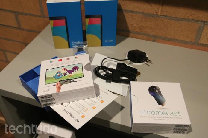Chromecast chega a lojas físicas dentro de algumas semanas  (Foto: Foto: TechTudo/Fabricio Vitorino)