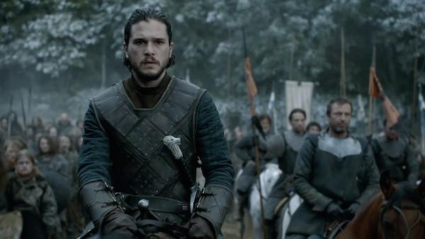 O ator Kit Herington como Jon Snow em cena de 'Game of Thrones' (Foto: Reprodução)