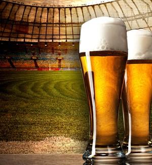 Carrossel cerveja maracanã (Foto: GloboEsporte.com)