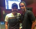Ronaldinho ataca de cantor e participa de gravação do DVD de Wesley Safadão