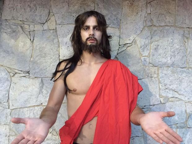 Paulo Dalagnoli será Jesus Cristo em desfile da Rosas de Ouro (Foto: Assessoria / Divulgação)