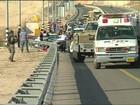 Dois palestinos são mortos após atropelarem soldados na Cisjordânia