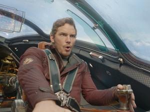 Chris Pratt é o Peter Quill de 'Guardiões da Galáxia' (Foto: Divulgação)