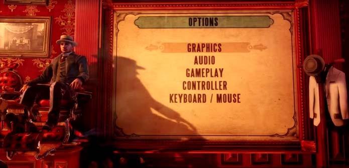 Clique em Graphics (Foto: Reprodução/YouTube)