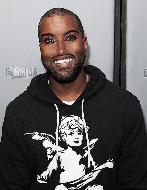 Kanye West e Kim Kardashian (Foto: Reprodução/The Sun)