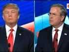 Jeb Bush diz em debate que Trump será 'presidente do caos'