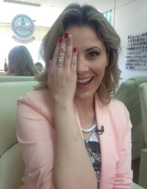 Jessica Leão (Foto: Reprodução / TV Diário)