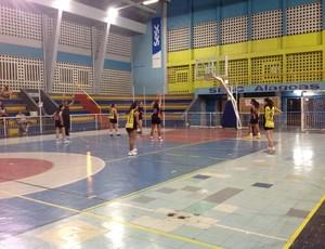 Time feminino de basquete do Espectros, na Copa Alagoas (Foto: Divulgação)