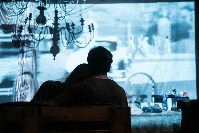 Eliza e Jonatas se identificam com a história de 'Luzes da cidade' (Foto: Raphael Dias / Gshow)