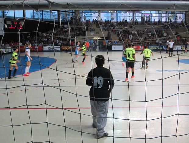 Com TV Tribuna de Futsal Escolar 2013 (Foto: Antonio Marcos)