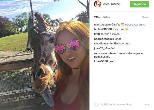 Ellen Roche (Foto: Instagram / Reprodução)