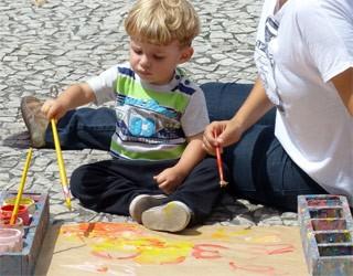 Pintura Infantil (Foto: Reprodução)