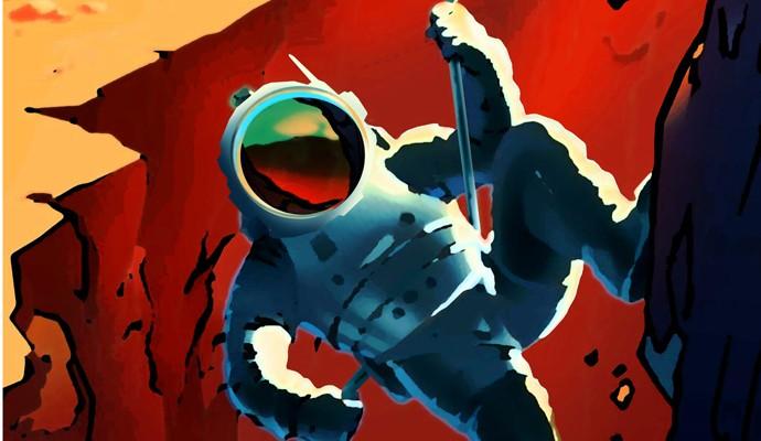 Pôster da NASA para divulgar missão Journey to Mars (Foto: NASA)