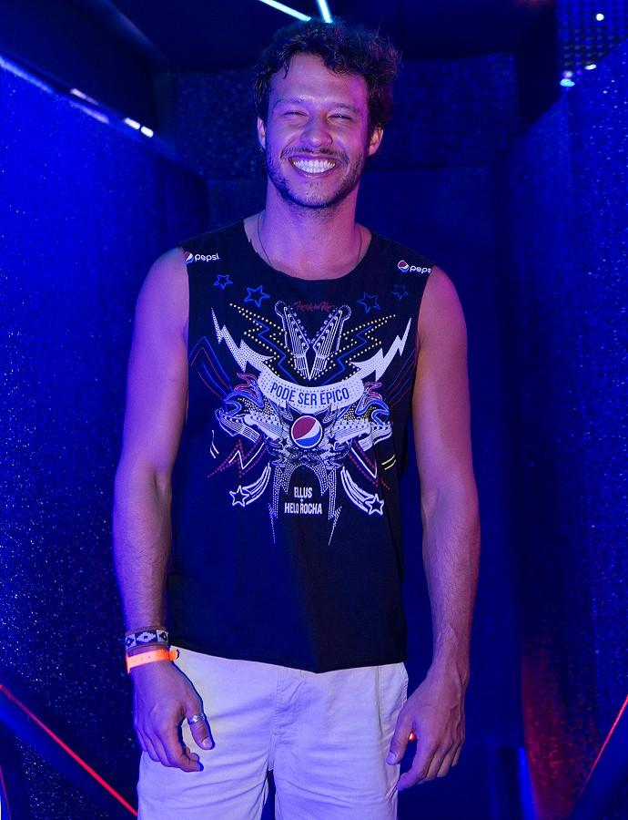 Nando Rodrigues na Cidade do Rock (Foto: Felipe Monteiro/Gshow)