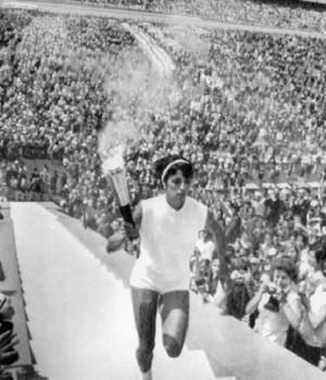 Enriqueta Basilio Cidade do México 1968 (Foto: Olympic.org)