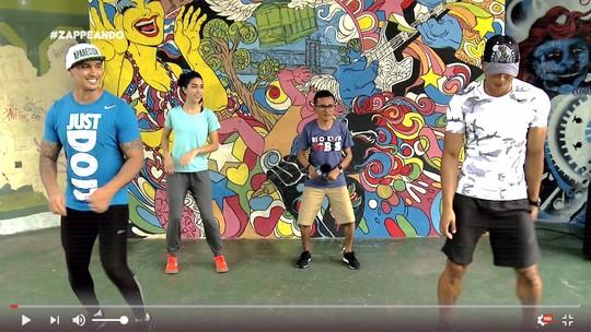 #Zapp: Diego Araújo cai na pista e relembra dancinhas que bombaram na web