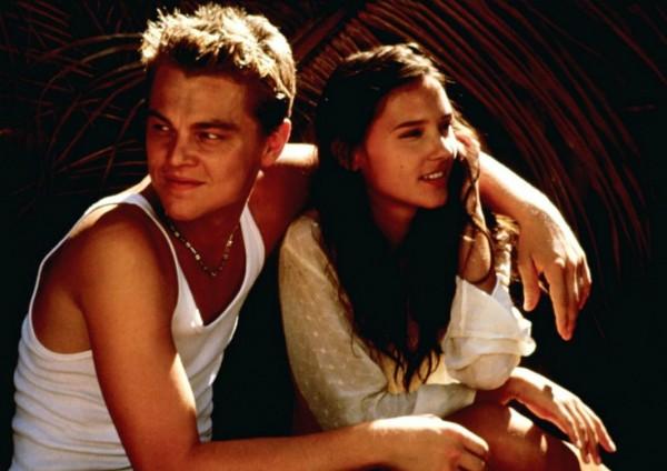 Virinie Ledoyen não gostou muito dos beijos de Leonardo DiCaprio em 'A Praia' (2000) (Foto: Divulgação)