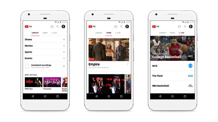 A YouTube TV tem mais de 40 canais (Foto: Reprodução/Google )