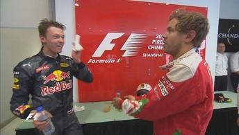 Melhores momentos do GP da China (Reprodução)