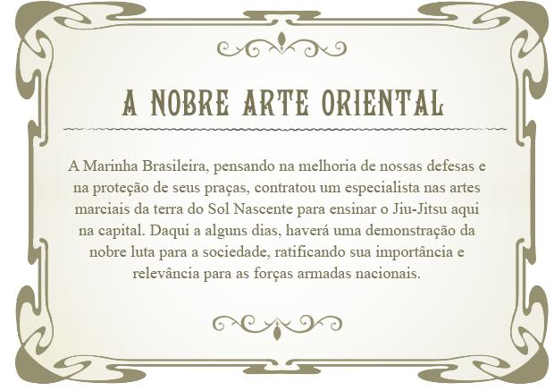 O Bonde: arte oriental (Foto: Lado a Lado/TV Globo)