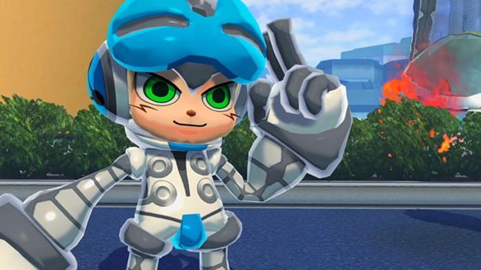 Mighty No. 9 está quase pronto para matar a saudade dos fãs de Mega Man (Foto: Reprodução/Gematsu)