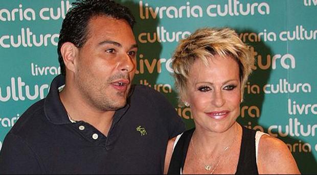 Marcelo Frissoni e Ana Maria Braga (Foto: AgNews)