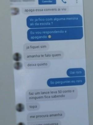Professor é preso suspeito de abusar de aluna de 13 anos em escola de Luziânia, Goiás (Foto: Reprodução/TV Anhanguera)
