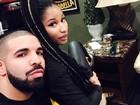 Nicki Minaj posa com Drake e fãs festejam reaproximação