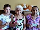 'Sou votadeira', diz idosa de 100 anos  (Dayanne Saldanha/G1)