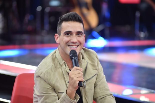 André Marques surpreende ao revelar que foi casado por sete anos (Foto: Globo/Mauricio Fidalgo)