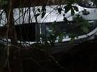 Jovem morre e outra fica ferida após carro cair em ribanceira na MG-164