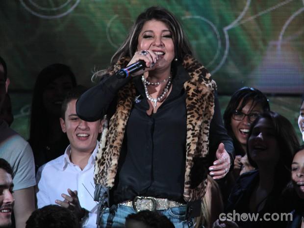 Roberta Miranda participa do programa Altas Horas deste sábado (Foto: TV Globo/Altas Horas)