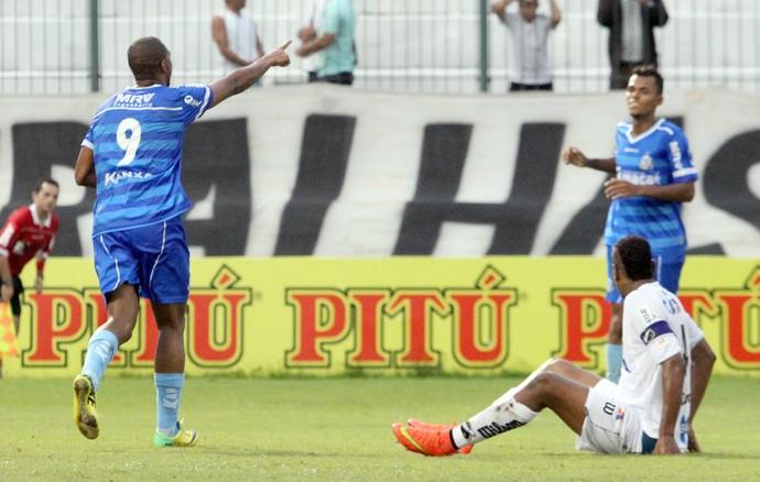 Gol de Anselmo, macaé x abc (Foto: Tiago Ferreira / Macaé Esporte)