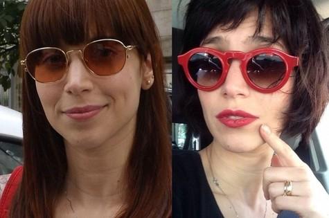 Mel Lisboa antes e depois (Foto: Divulgação/Arquivo pessoal)