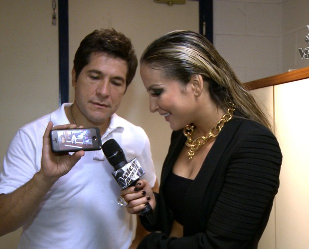 Daniel e Claudia Leitte (Foto: Tv Globo)
