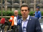 Chefes de Estado da zona do euro  ainda discutem situação da Grécia
