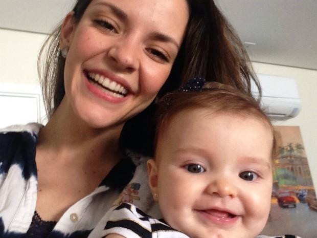Heloísa Orsolini com a filha Mariana (Foto: Heloísa Orsolini/arquivo pessoal)