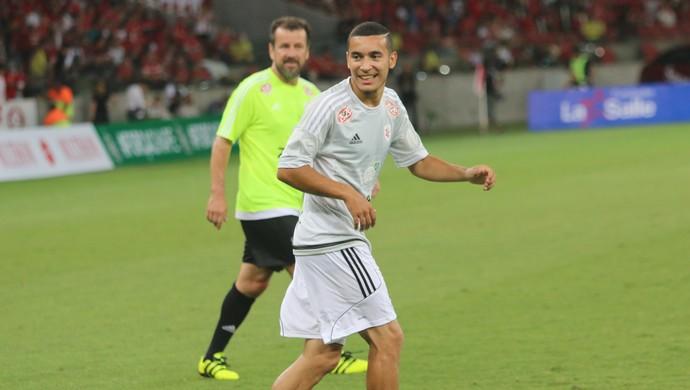 William Inter Lance de Craque (Foto: Beto Azambuja / GloboEsporte.com)