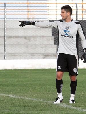 Cléber, goleiro do Treze (Foto: Magnus Menezes / Jornal da Paraíba)