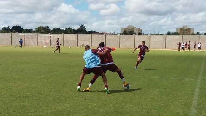 América-RN treino Arena América (Foto: Canindé Pereira/Divulgação)