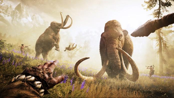Far Cry Primal promete ter caça para alimentar tribo (Foto: Divulgação/Ubisoft)