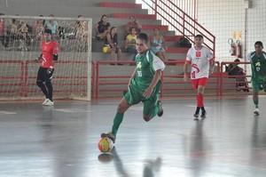 Decisão da Copa Bancária de Futsal foi disputada no Ginásio do Sesi (Foto: Manoel Façanha/Arquivo Pessoal)