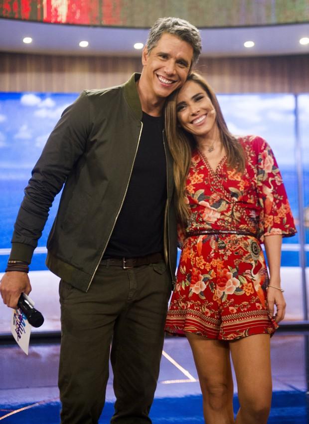 Márcio Garcia w Wanessa Camargo (Foto: Divulgação/TV Globo)