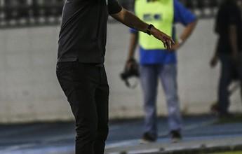 """Caio Júnior aponta falhas por desgaste e cita lances capitais: """"1 a 1 seria ótimo"""""""