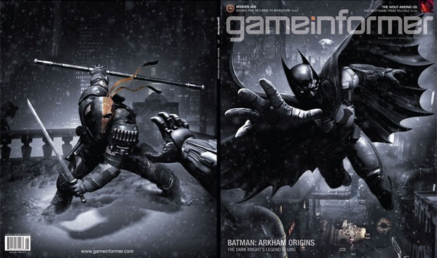 Capa da revista 'GameInformer' que revelou 'Batman: Arkham Origins' (Foto: Divulgação/GameInformer)