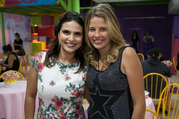 Aline Barros e Debby Lagranha (Foto: Rafael Barros/Divulgação)