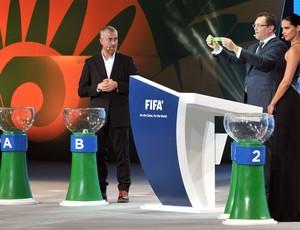 Jerome Valcke , Sorteio copa das Confederações (Foto: Agência AFP)