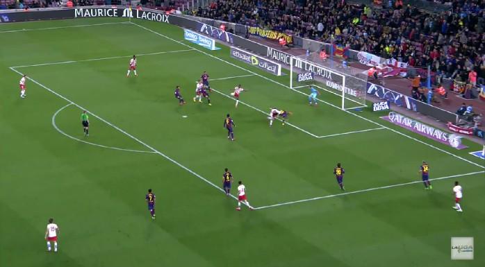 Gol anulado Thievy Almería