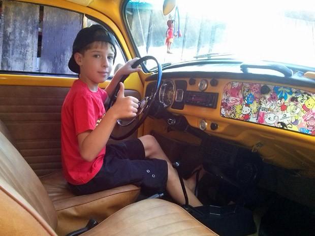 E hoje, com 10 anos (Foto: Elisandro Pastoriza/VC no AutoEsporte)