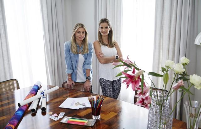 Anna Guinle e Marina Rovery (Foto: Divulgação)